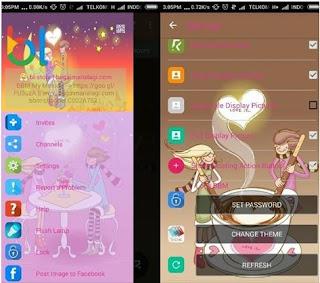 BBM Whatsapp Mod Love Is