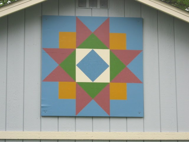 Hancock County, Ohio Barn Quilts: Ohio Star Variation