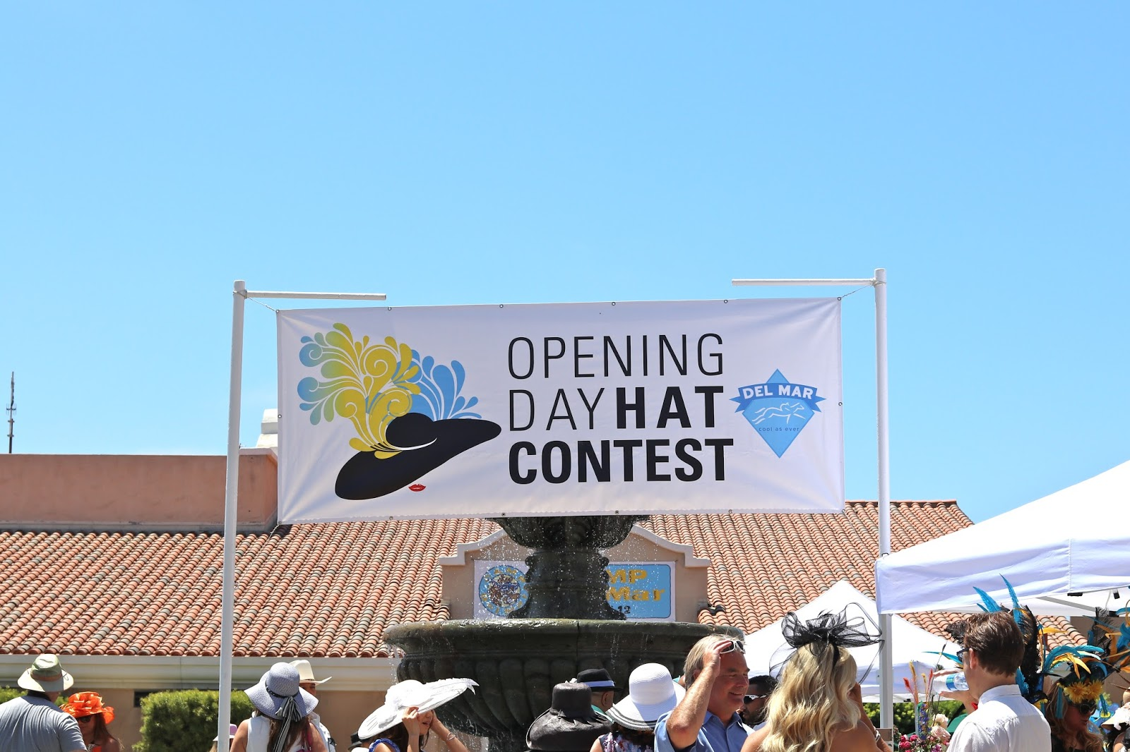 Opening Day at the Del Mar Racetrack 2016, Hat Contest, Opening Day at the Del Mar Racetrack 2016 Hat Contest