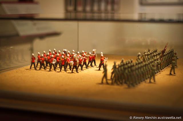 Australian Army Band 'KAPOOKA', Wagga Wagga Museun display