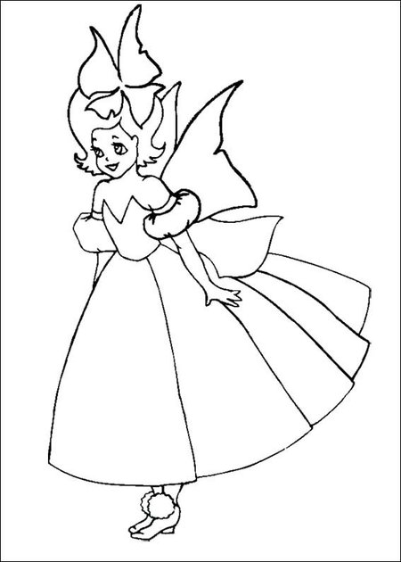10 Disney Fantasy Fairies Coloring Pages for Kids