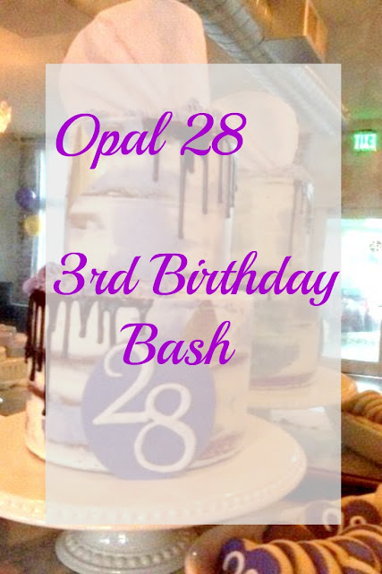 Opal 28 Birthday Bash. Get birthday party inspiration on FizzyParty.com