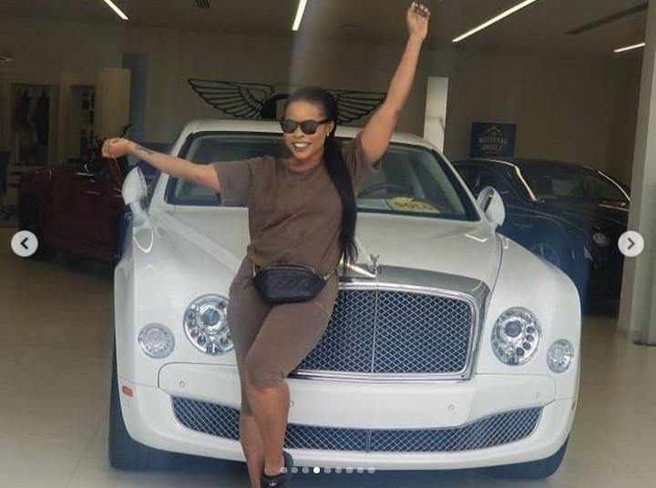 Linda Ikeji Buys Bentley For Son, Jayce Jeremi Baby J