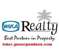 lowongan kerja seluruh Indonesia terbaru PT. Wika Realty april 2019 (5 posisi)