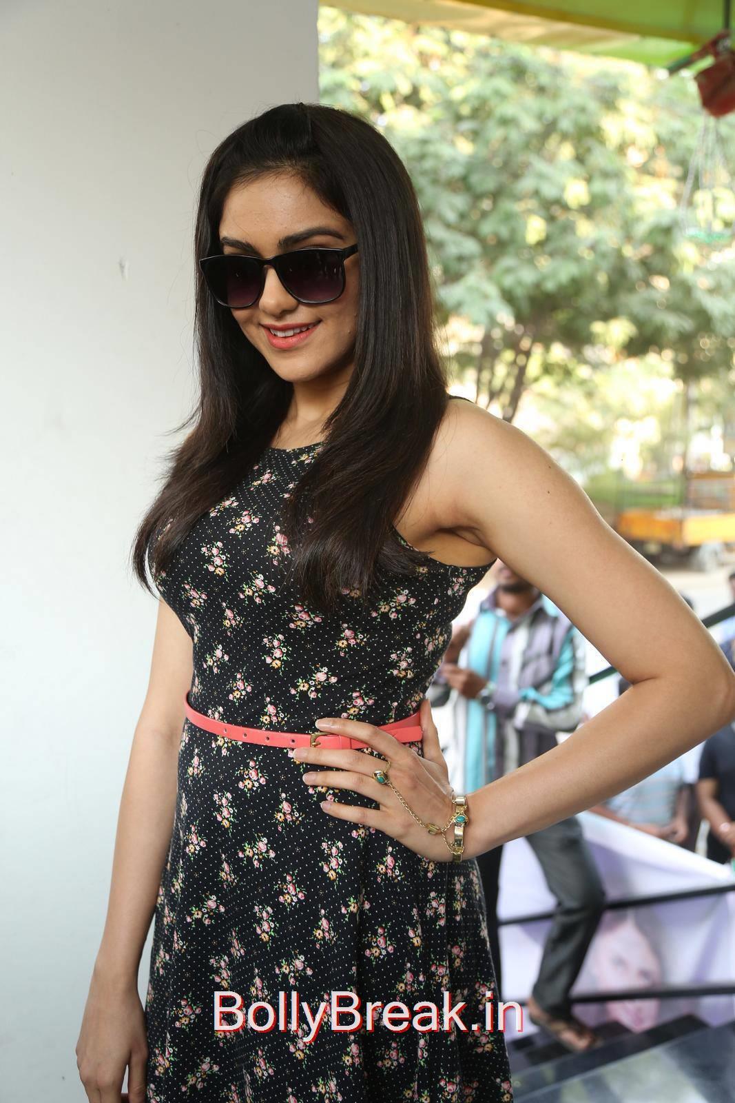 Adah Sharma Stills, Adah Sharma Hot Pics in Black Skirt Dress