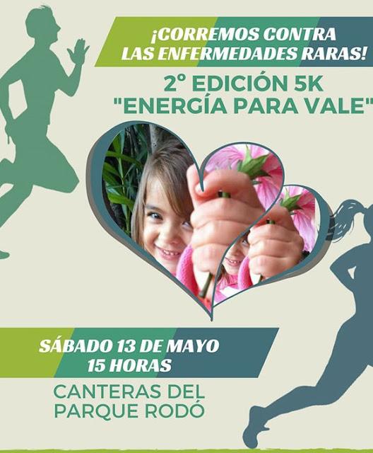 5k Energía para Vale (Canteras parque Rodó - Montevideo, 13/may/2017)