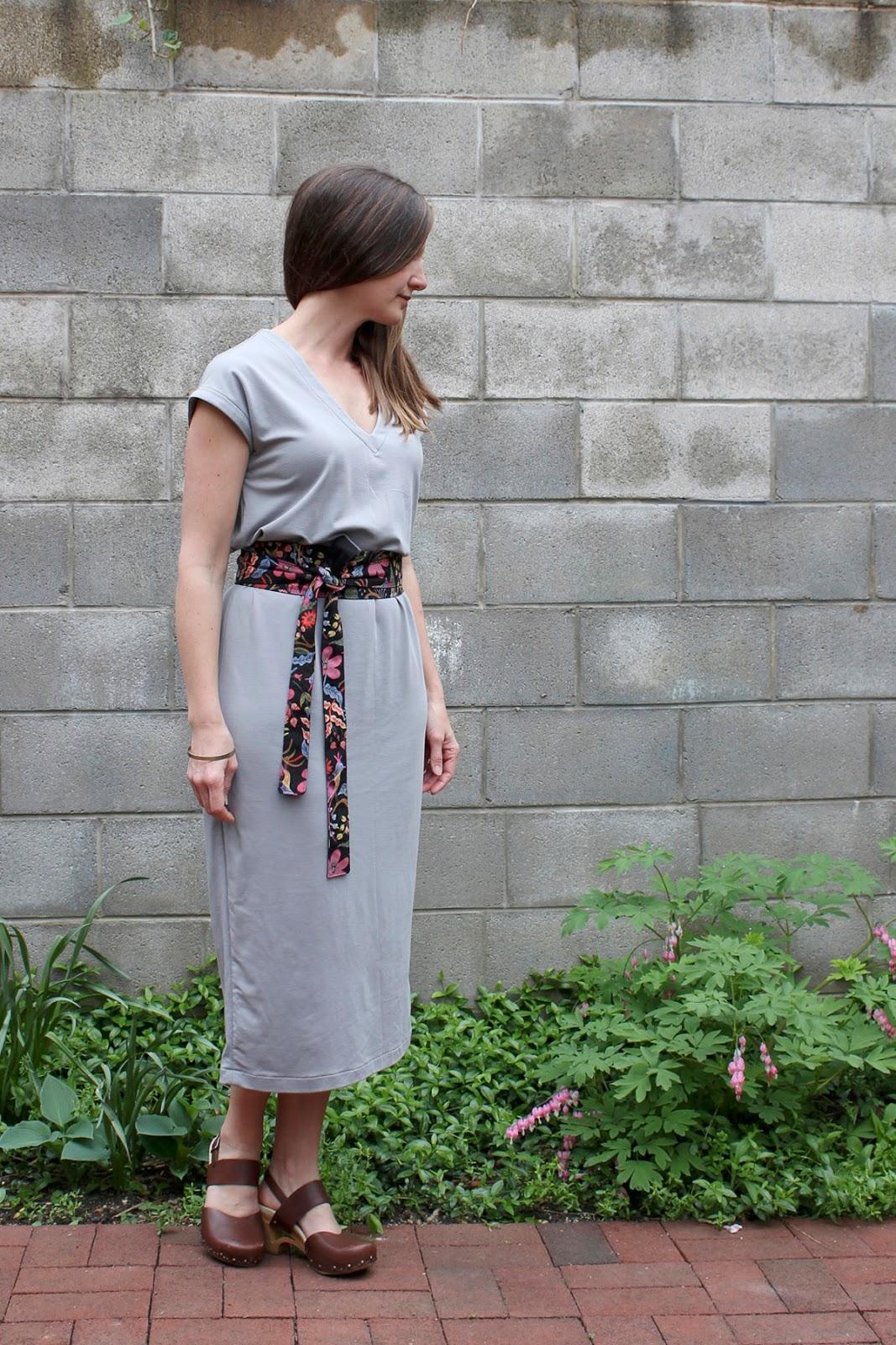 SweetKM: Lodo Dress + Obi Belt