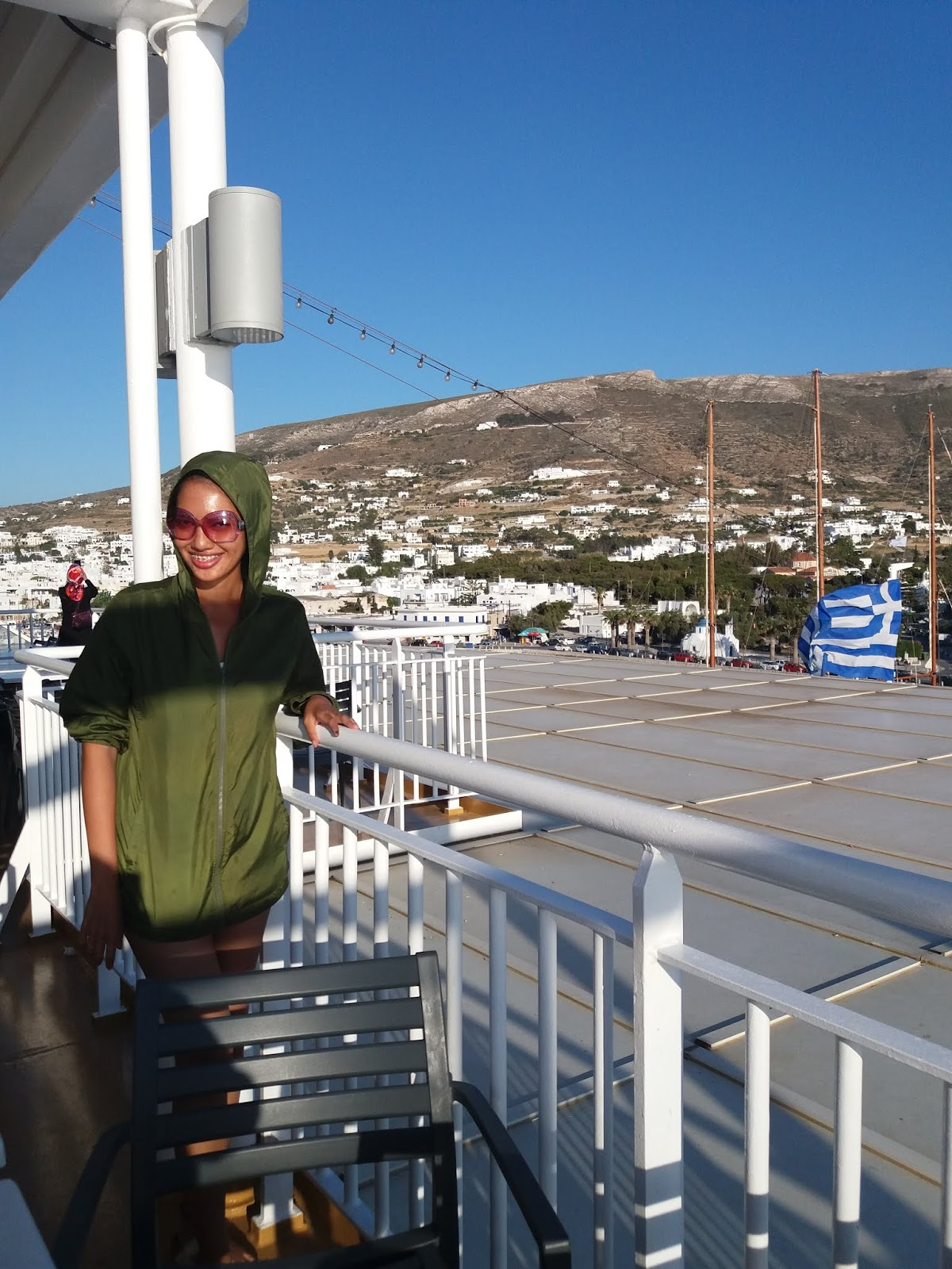 Blue Star Ferry to Santorini - how to travel in Santorini on a budget itinerary