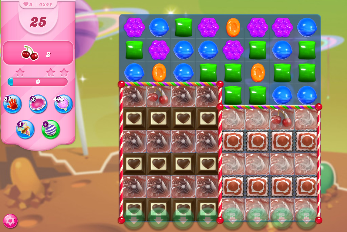 Candy Crush Saga level 4241