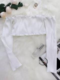 white crop tops
