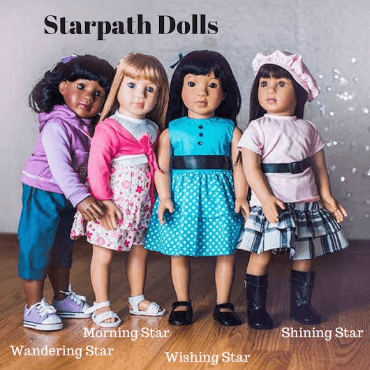 Blogger Opp Starpath Dolls 18.5 Inch Doll Giveaway - Amy and Aron's Real Life Reviews