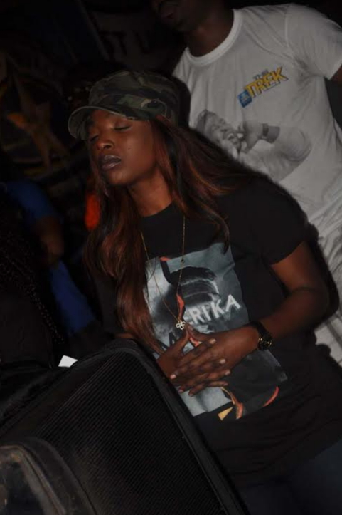 annie idibia angry