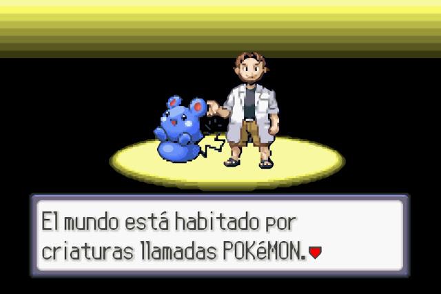 Pokémon Zafiro - Español - Captura 2