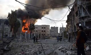 Ρωσία: Οι ΗΠΑ σχεδιάζουν βομβαρδισμό συνοικιών της Δαμασκού μετά από προβοκάτσια