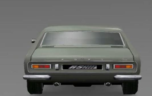 Ford Capri Mk I RS2600 1970