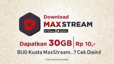 Kegunaan Kuota MAXstream Dan Cara Menggunakanya
