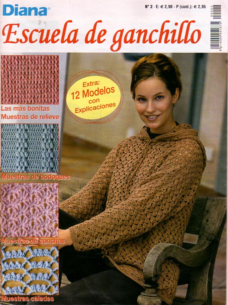 Revistas de crochet y tejidos gratis