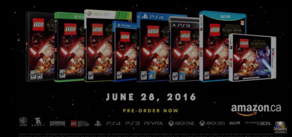 PS Vita Roundup: Lego Star Wars The Force Awakens will rage