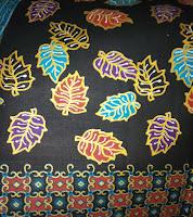 Kain Batik Prima 0436 Hitam