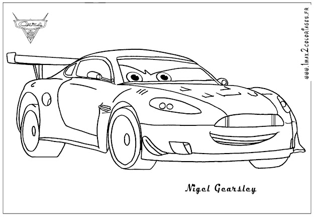 Funny Lightning Mcqueen Cars Coloring Page For Kids Disney