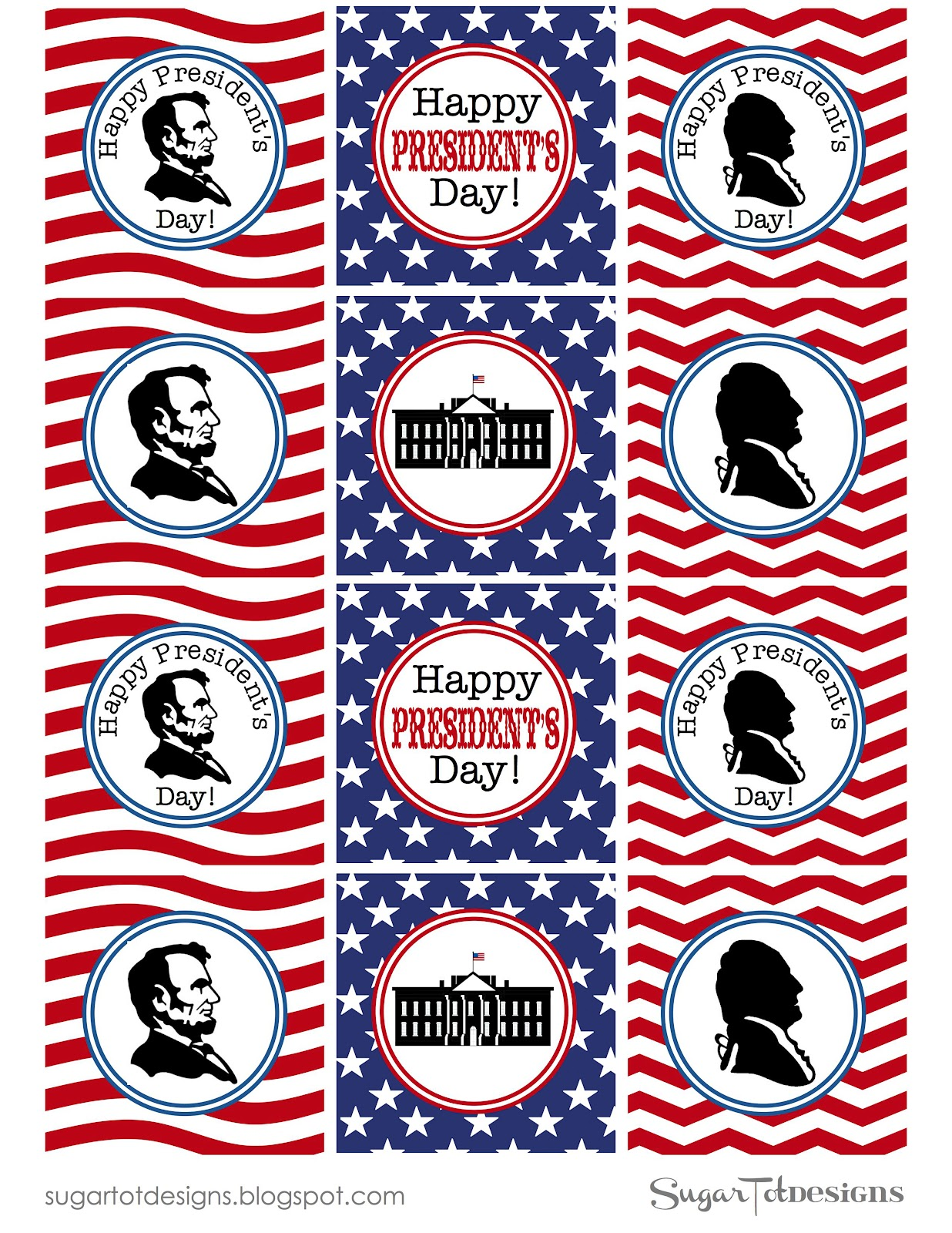Sweetology President S Day Free Printables