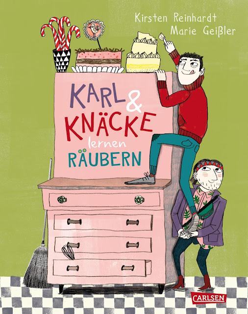 Carlsen Verlag - Karl und Knäcke lernen räubern