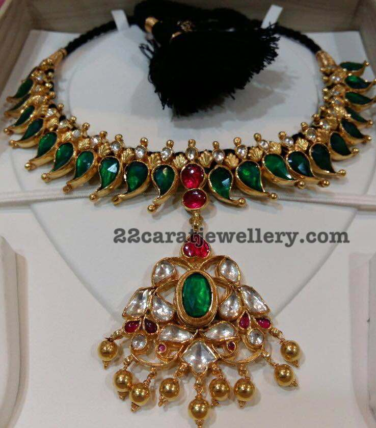 Silver Metal Goldplated Necklaces - Jewellery Designs