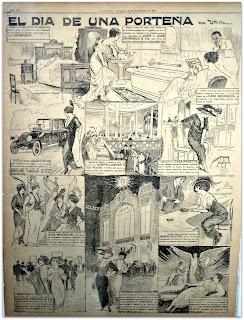 El Dia de Una Porteña - Antoni Utrillo (1913), Museo do Humor, Buenos Aires