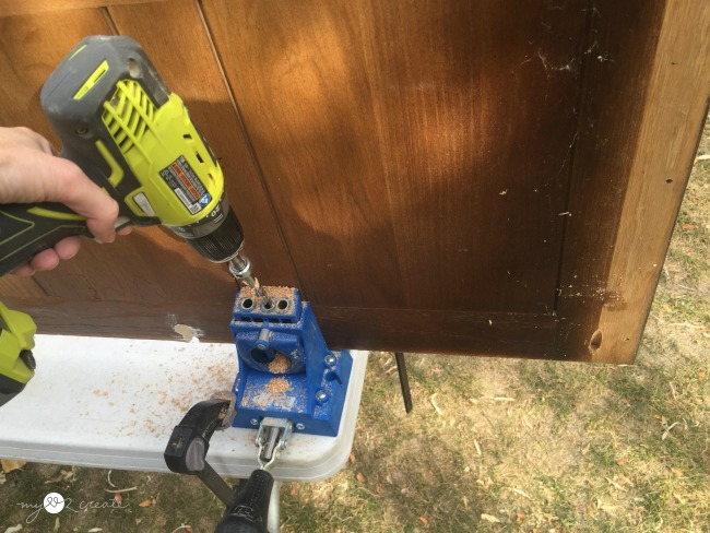 using a Kreg jig to build