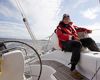 Styrmann og navigatør.   Foto: Trond Holmøy
