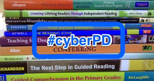 A Year of Reading: {DIY Literacy} #cyberPD