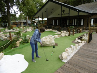 Photo of the Putt in the Park minigolf course in Battersea Park, London