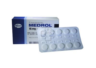 Thuốc chống viêm Medrol 16 mg của Pfizer