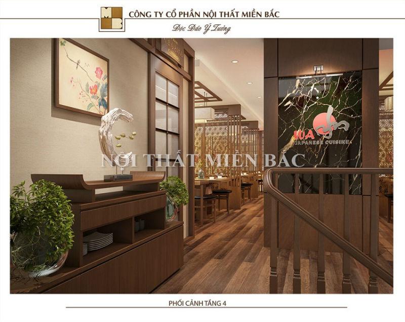 Thiết kế nội thất phong cách Nhật với cửa trượt