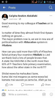 Teachers That Failed The Kaduna State Competency.