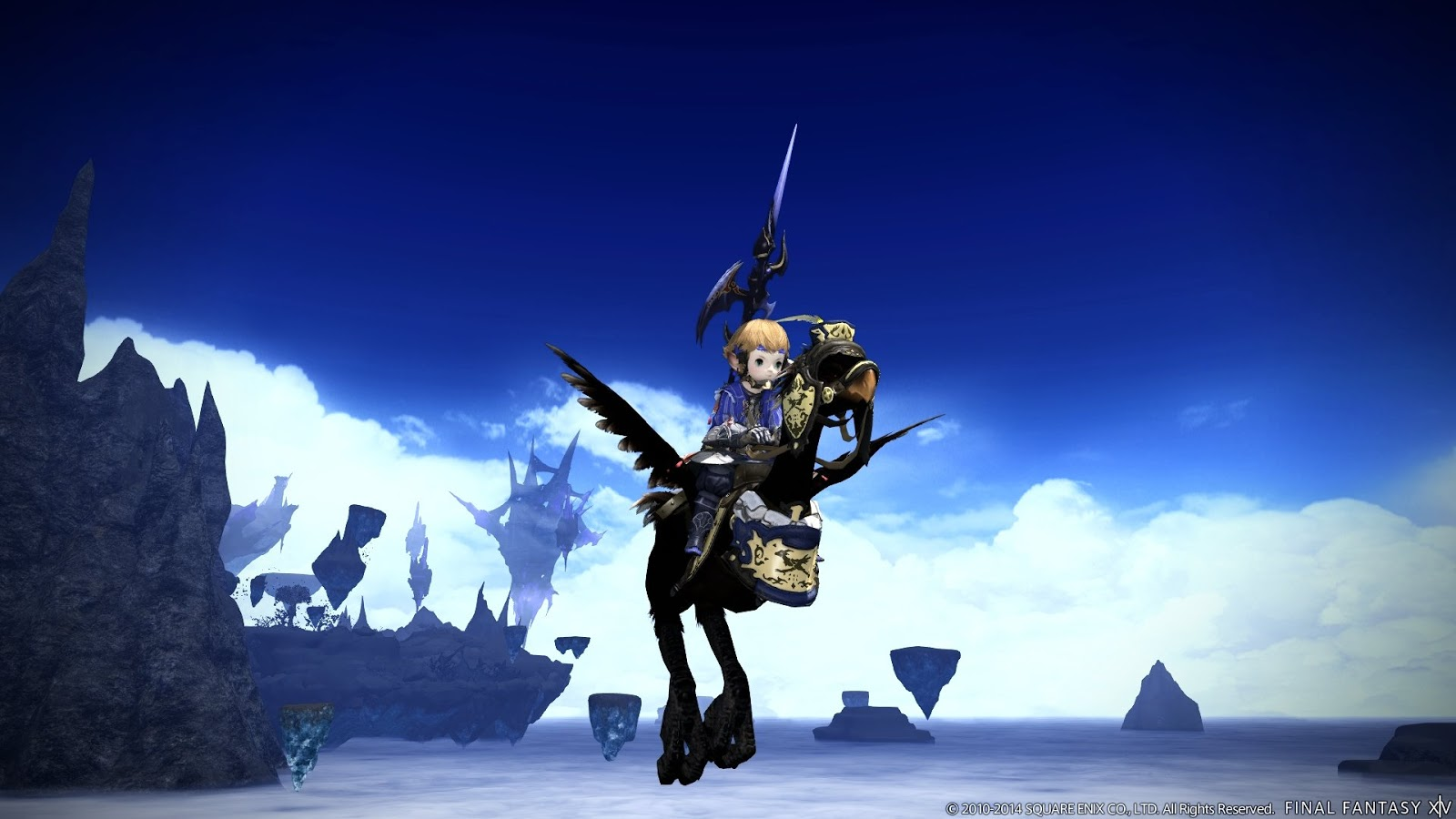Ffxiv Guide Flying Mounts In 30 Final Fantasy Xiv Guide