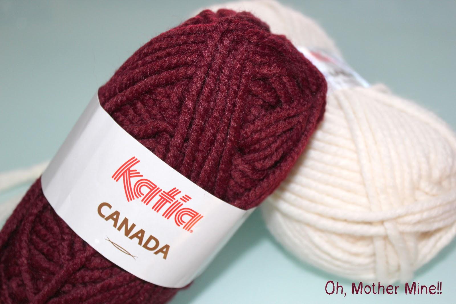 DIY Cómo hacer gorros de lana con dos agujas  b69a5dc914d2