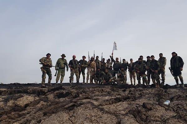 الجيش السوري يبسط سيطرته على كامل منطقة تلول الصفا بريف السويداء الشرقي