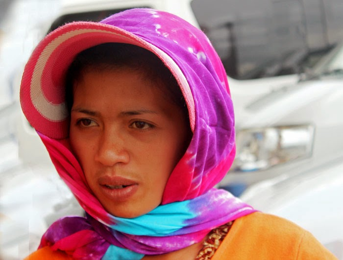 Young woman from Bali