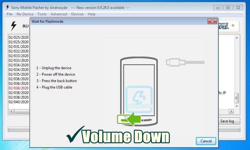 Tutorial Flashing Sony Xperia Z3 SO-01G Docomo Flashtool Tested 100%