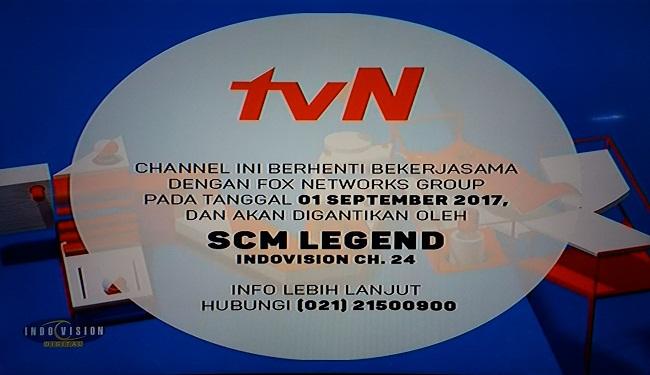 TVN berhenti siaran di Indovision.