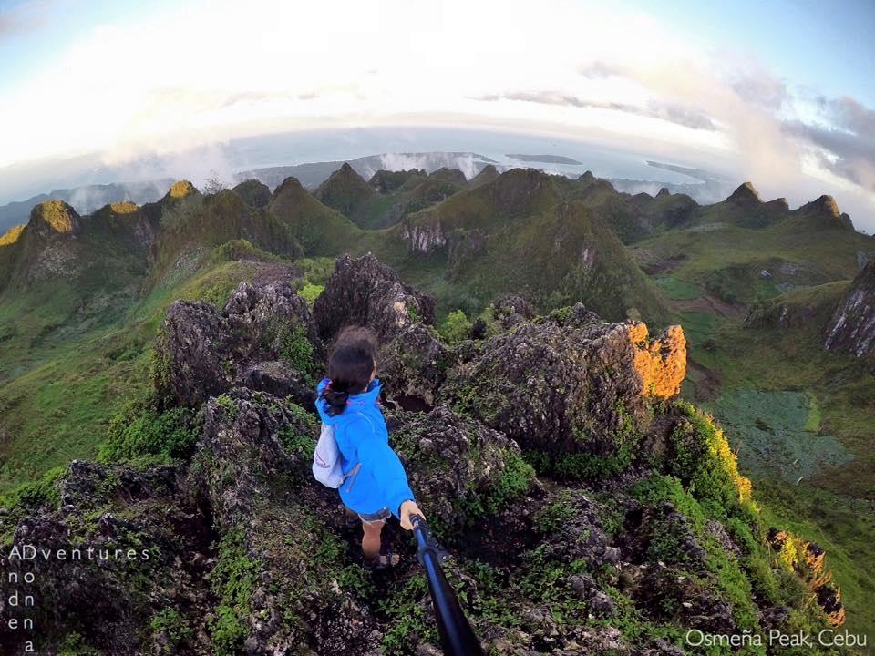 Osmeña Peak in Dalaguete Cebu