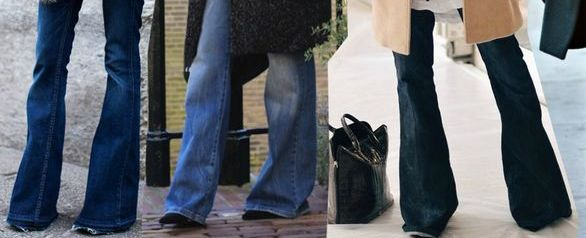 High Heels in the Wilderness: Fashion Hyperbole... What's the Story?  overly long jeans