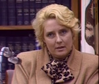 Betty Broderick testifying in court