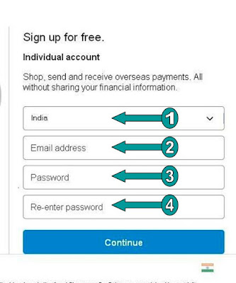 Make a paypal account-paypal register