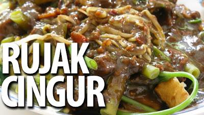 Cara Membuat Makanan Khas Jawa Timur: Rujak Cingur
