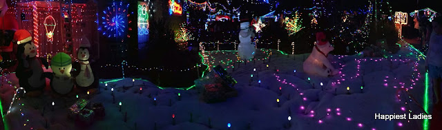 Hugo Court Christmas Lights Narre Waren Australia