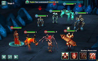Download Alliance Heroes of the Spire V47934 MOD Apk + Data