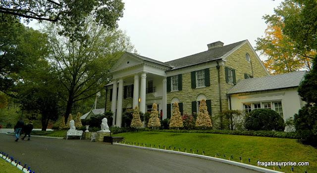 Casa de Elvis Presley em Graceland, Memphis