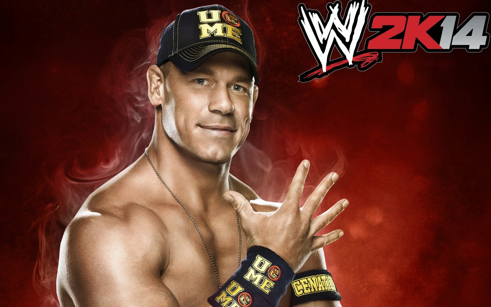 John cena wwe 2k14 - Wwe divas wallpapers ...
